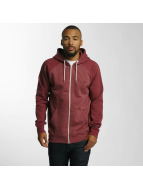 Quiksilver Sweat à capuche zippé Everyday rouge