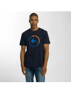 Quiksilver T-shirt Classic Active Logo blå