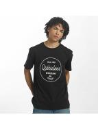 Quiksilver T-Shirt Classic Morning Slides black