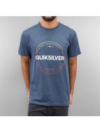 Quiksilver T-Shirt Heather Timepiece blau