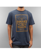 Quiksilver T-Shirt Double Lines Heather blau