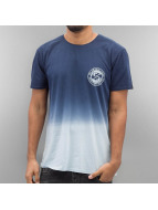 Quiksilver T-Shirt Specialty Tripple Fade blau