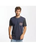 Quiksilver t-shirt Baysic Pocket blauw