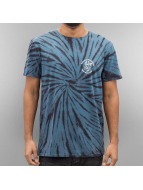 Quiksilver T-Shirt Off The Block Spiral SPE bleu