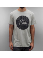Quiksilver T-Shirt Circle Bubble grau
