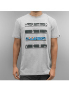 Quiksilver T-Shirt Read Between grau