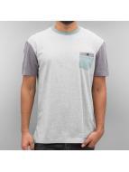 Quiksilver T-Shirt Baysic Pocket gris
