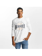 Quiksilver T-Shirt manches longues Classic Mad Wave blanc