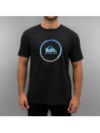 Quiksilver T-Shirt Active Logo schwarz