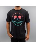 Quiksilver T-Shirt Joker Palms schwarz
