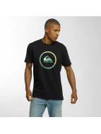 Quiksilver T-Shirt Classic Active Logo schwarz