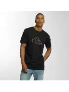 Quiksilver T-Shirt Classic Jungle Mountain schwarz