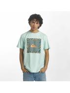 Quiksilver T-Shirt Classic Nano Spano türkis