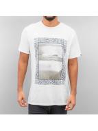 Quiksilver T-Shirt Slub Split Screen white