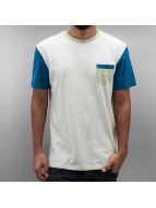 Quiksilver T-Shirt Baysic Pocket white