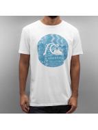 Quiksilver T-Shirt Circle Bubble white