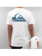 Quiksilver t-shirt Boogey Mansst wit