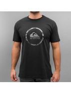 Quiksilver t-shirt Active Logo 3.0 zwart