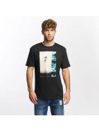 Quiksilver t-shirt Classic Meridian zwart