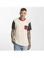 Quiksilver T-Shirts Baysic Pocket bej