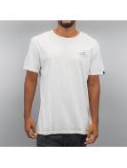 Quiksilver T-Shirts Garment Dye Volvano beyaz