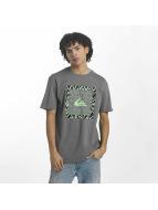 Quiksilver T-shirts Classic Nano Spano grå