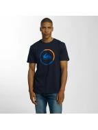Quiksilver T-Shirts Classic Active Logo mavi