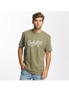 Quiksilver T-Shirts Classic Sea Tales zeytin yeşili