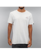Quiksilver T-Shirty Garment Dye Volvano bialy