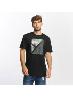 Quiksilver T-Shirty Classic Coast Lines czarny