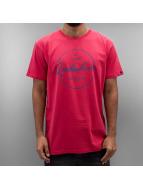 Quiksilver T-Shirty Silvered Classic czerwony
