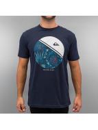 Quiksilver T-Shirty Free Wheelin niebieski