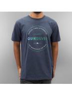 Quiksilver T-Shirty Free Zone Heather niebieski