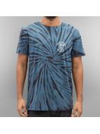 Quiksilver T-Shirty Off The Block Spiral SPE niebieski