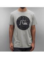 Quiksilver T-Shirty Circle Bubble szary