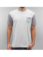 Quiksilver T-Shirty Baysic Pocket szary