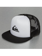 Quiksilver Trucker Cap Snap Addict white