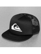Quiksilver trucker cap Snapper zwart