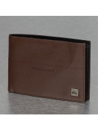 Quiksilver Wallet Stitched II brown
