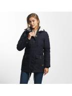 Ragwear Manteau hiver Jane bleu