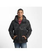 Ragwear Manteau hiver Banks noir