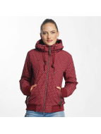 Ragwear Manteau hiver Nuggie rouge