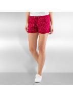 Ragwear Pantalón cortos Norah Navy rojo