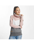 Ragwear Pullover Viola Block pink