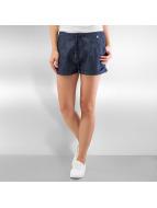 Ragwear Shorts High Dots blau
