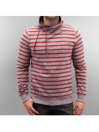 Ragwear Sweat capuche Hooker Stripes rouge