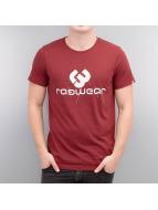 Ragwear t-shirt Charles rood