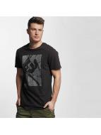 Ragwear T-Shirt Paddy Map schwarz