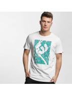 Ragwear T-skjorter Paddy Map hvit