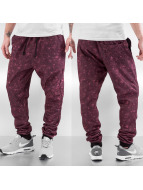 Ravv Blue joggingbroek Imperious rood